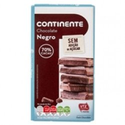 Tablete Chocolate Negro sem Açúcar  100gr