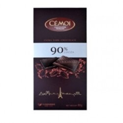 Tablete Chocolate Negro 90%  80gr
