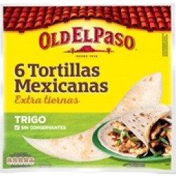 Tortilhas Mexican de Trigo  244gr (6 uni)