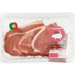Costeletas do Lombo de Porco  ≃490gr (4 uni)