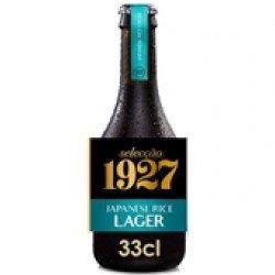 Cerveja com Álcool Selecção Japan Lager 1927 330mL