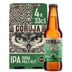 Cerveja com Álcool Coruja India Pale Ale 4x330mL (4 unid)