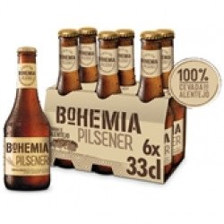 Cerveja com Álcool Bohemia Pilsener 6x330mL (6 unid)