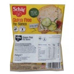 Pão Branco (carré) Fatias sem Glúten  250gr (10 uni)