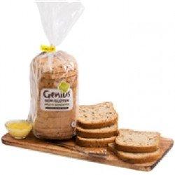 Pão sem Glúten 4 Sementes  400gr (13 uni)