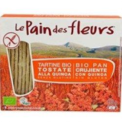 Pão Quinoa sem Glúten BIO  150gr (10 uni)