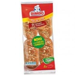Pão de Leite de Cereais  280gr (4 uni)