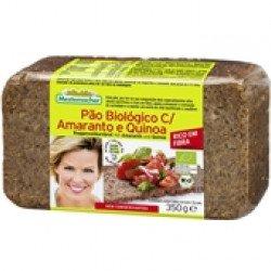 Pão com Amaranto e Quinoa BIO  350gr