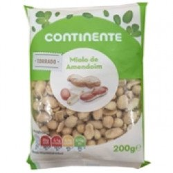 Miolo de Amendoim Torrado  200gr