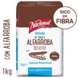 Farinha de Trigo e Alfarroba  1kg