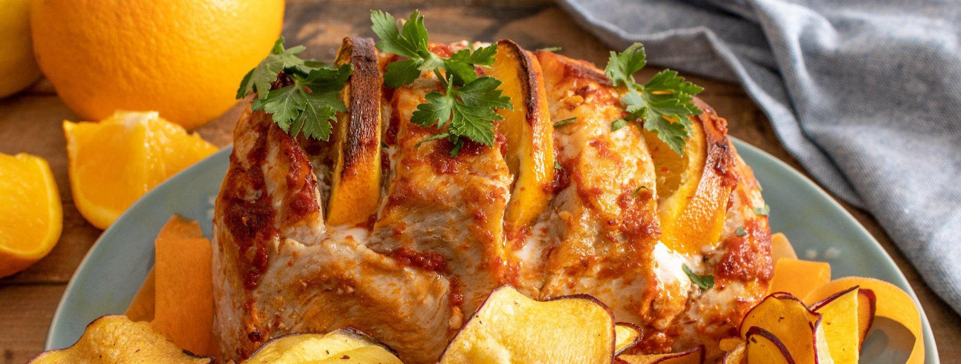 Pork Loin with Orange