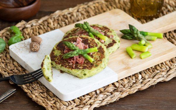 Mini Potato and Asparagus Tortillas