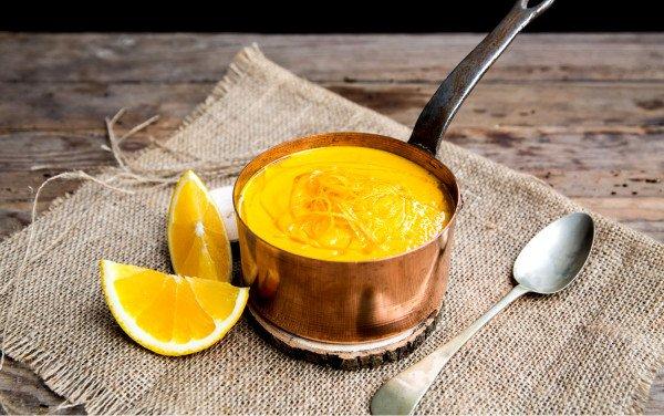 Carrot and Orange Velvety