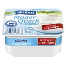 Requeijão Quark Natural 0%  250gr