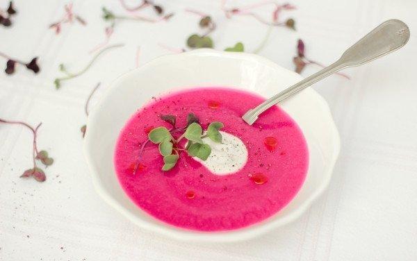 Sopa Cor de Rosa