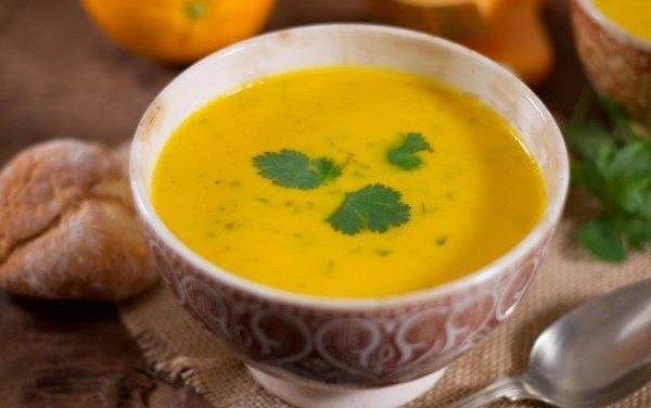 Pumpkin Soup with Carrot and Orange