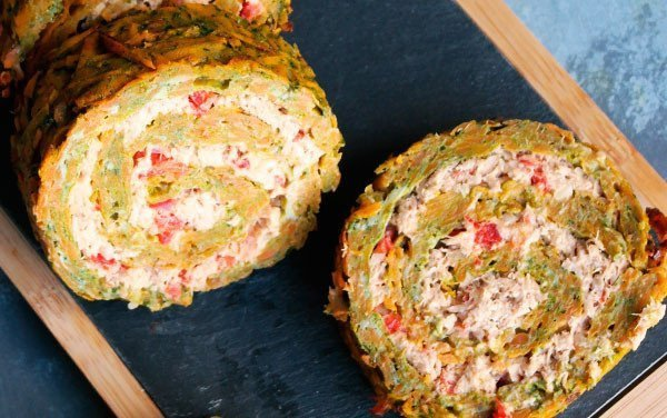 Tuna Pastry Stuffed Vegetable Pie