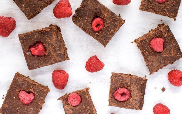 Raspberries Brownie