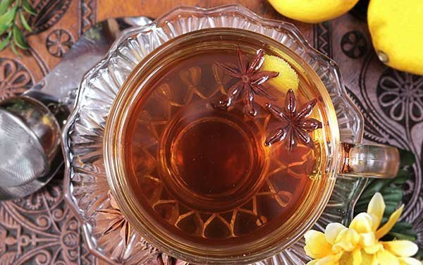 Functional Infusion of Dandelion, Lemon Peel and Star Anise