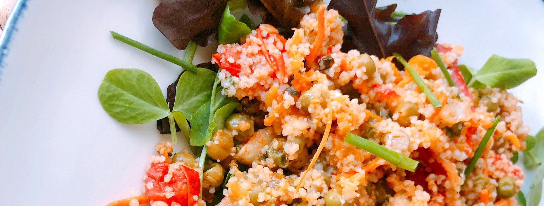 Quinoa Salad with Peas