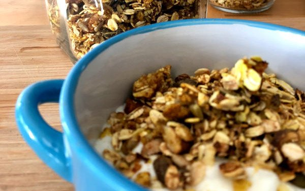 Banana Granola with Saffron