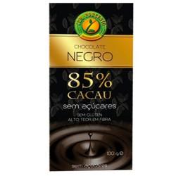 Chocolate Negro s/ Açúcar 100gr