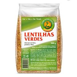 Lentilhas Verdes 500gr