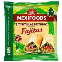 Fajitas de Tortillas de Trigo 320gr