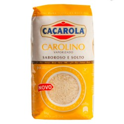 Arroz Carolino Vaporizado 1kg