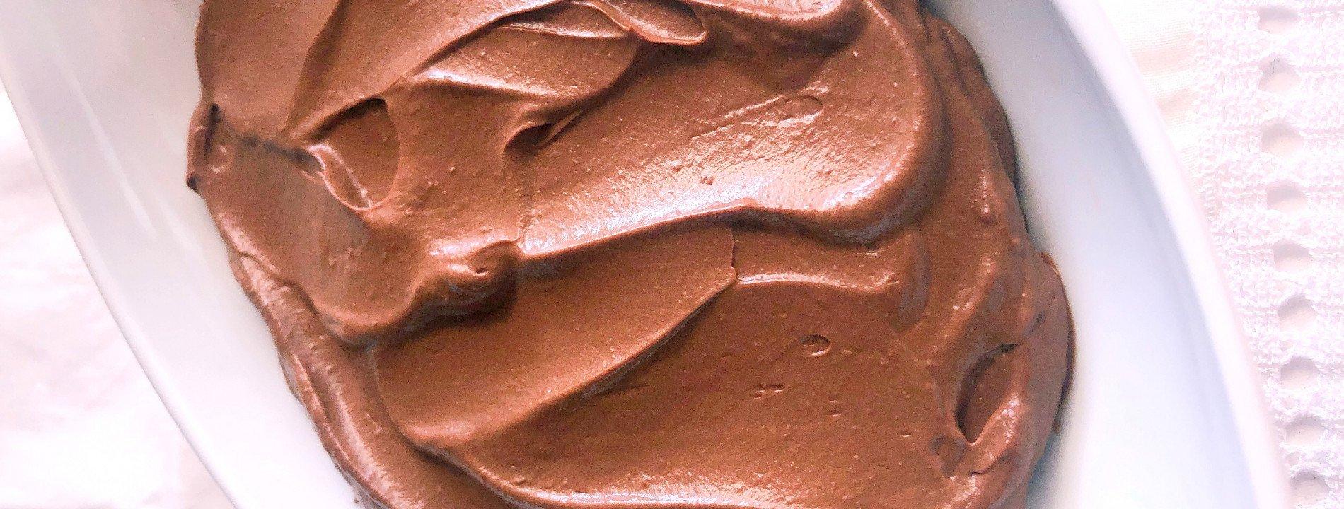 Mouse de Chocolate Saudável