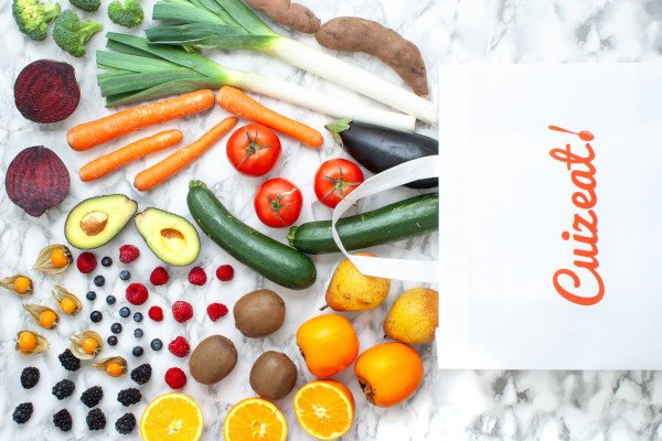 Organic Fruit & Veg Farm Basket – Mix 2