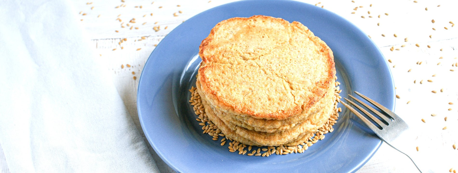 Flaxseed and Orange Pancakes