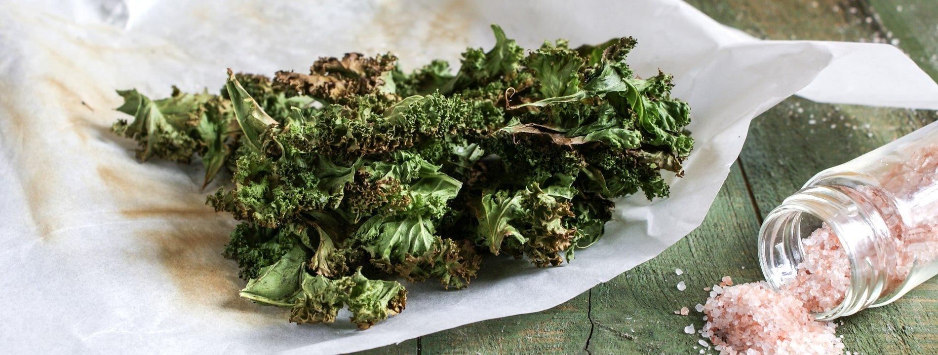Kale Chips Easy-Cheasy