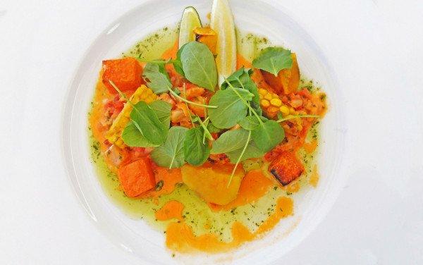 Salada de Outono com Bacalhau Fresco