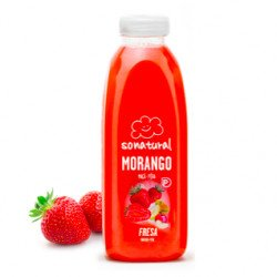 Sumo 100% Natural Morango 750mL