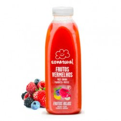 Sumo 100% Natural Frutos Vermelhos 750mL