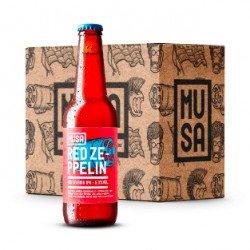 Cerveja Artesanal Red Zeppelin Ale 3960mL (≈12 unid)