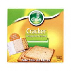 Cracker Sésamo Caixa Trilingue 264gr