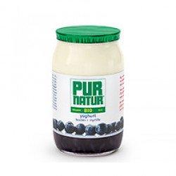 Iogurte com Pedaços de Mirtilo BIO 1200gr (≈8 uni)