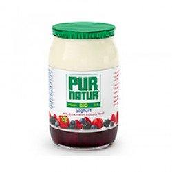 Iogurte com Pedaços de Frutos do Bosque BIO 1200gr (≈8 unid)