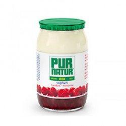Iogurte com Pedaços de Framboesa BIO 1200gr (≈8 uni)