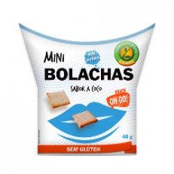 Snack Mini Bolachas Coco s/glúten 40gr