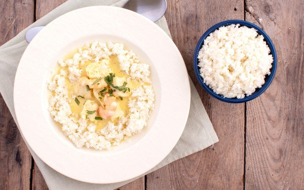 Fish Curry with Cauliflower 'Rice'