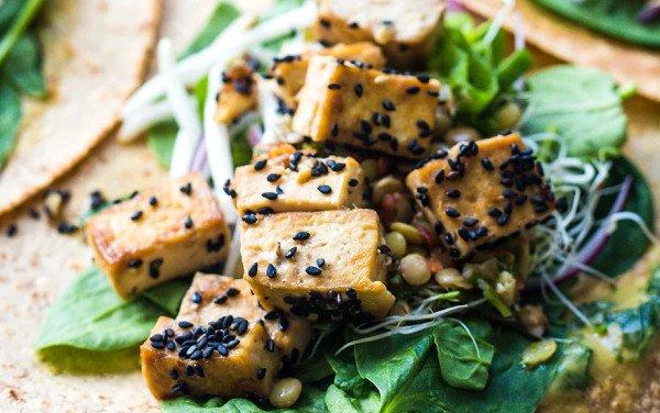 Super Protein Vegan Wraps