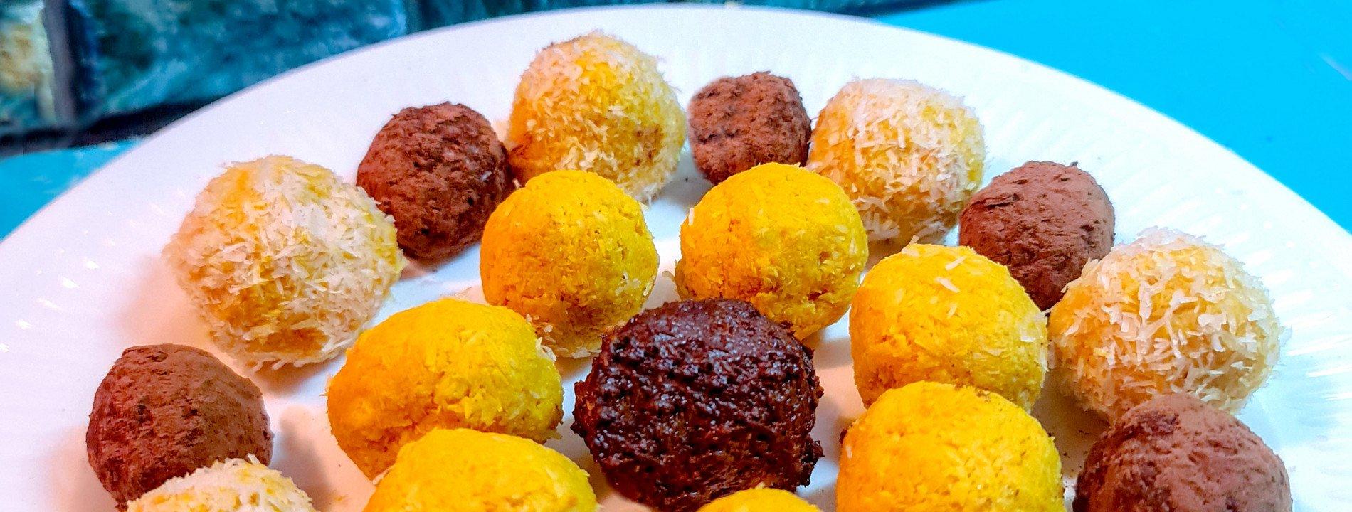 Sweet Potato and Cocoa Truffles