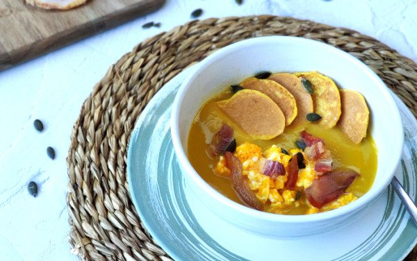 Panquecas Low Carb na Sopa