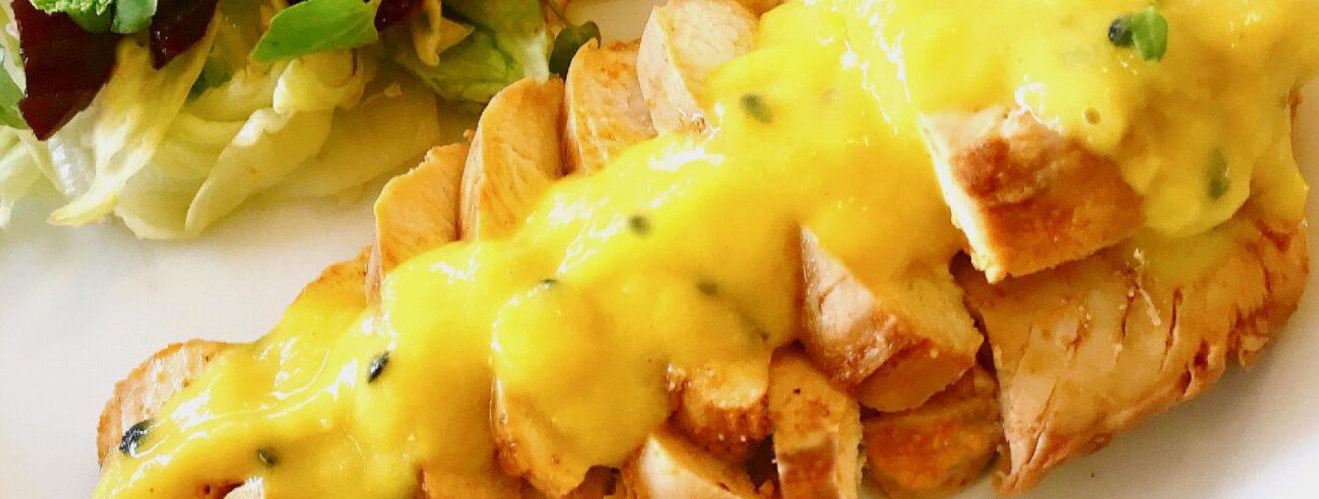 Chicken Breast with Tropical Sauce